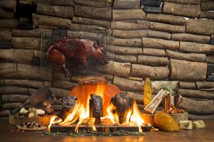 Caveman Supper with FIRE