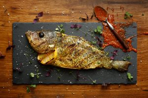 Spiced Deboned Snapper